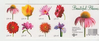 UNITED STATES 2007 Beautiful Blooms BOOKLET COMPLETE MNH