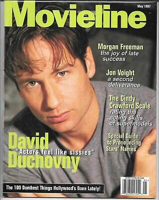 Movieline Magazine May 1997 (Vf/Nm) David Duchovny Of The X-Files Cover