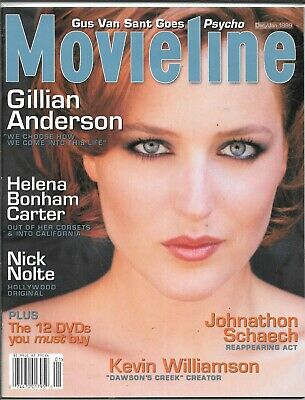 Movieline Magazine December January 1999 (Vf/nm) Gillian Anderson Of The X-Files
