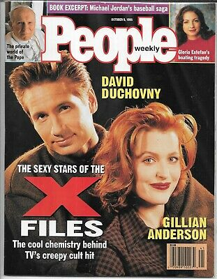 People Weekly Magazine October 9, 1995 (Vf) The X-Files