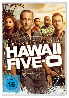 VORBESTELLUNG -> 6 DVDs * HAWAII FIVE-0 - SEASON / STAFFEL 8 # NEU OVP +