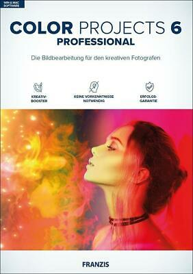 Color projects 6 professional (Win & Mac) CD-ROM Deutsch 2018