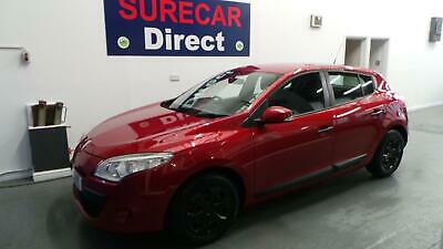 2009 Renault Megane 1.6 VVT (100bhp) Extreme 5Dr Ruby Red ONLY 43,000 MILES !!