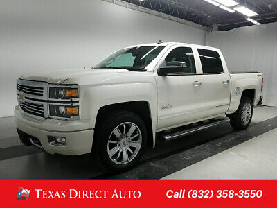 2014 Chevrolet Silverado 1500 High Country Texas Direct Auto 2014 High Country Used 5.3L V8 16V Automatic 4WD Pickup Truck