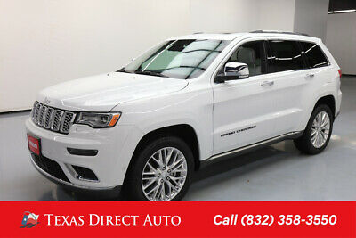 2017 Jeep Grand Cherokee Summit Texas Direct Auto 2017 Summit Used 3.6L V6 24V Automatic 4WD SUV