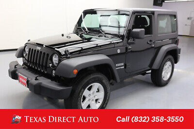 2018 Jeep Wrangler Sport S Texas Direct Auto 2018 Sport S Used 3.6L V6 24V Automatic 4WD SUV