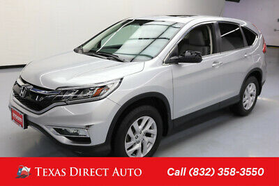 2015 Honda CR-V EX Texas Direct Auto 2015 EX Used 2.4L I4 16V Automatic FWD SUV Premium