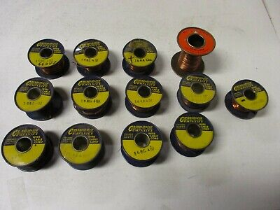 Consolidated Companies Bare Copper Wire Lot Various Gauges See Photos & Below