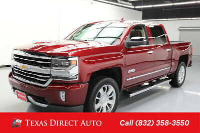 2017 Chevrolet Silverado 1500 High Country Texas Direct Auto 2017 High Country Used 5.3L V8 16V Automatic 4WD Pickup Truck