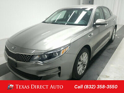 2016 KIA Optima EX Texas Direct Auto 2016 EX Used 2.4L I4 16V Automatic FWD Sedan