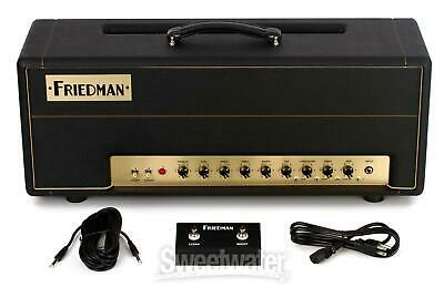 Friedman BE-100 100-watt 2-channel Tube Head with