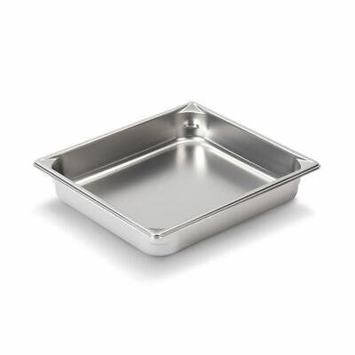 "Vollrath 30222 Super Pan V S/S Half Size x 2.5"" D Food Pan"