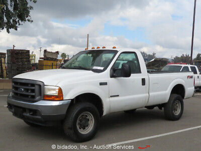 2001 Ford F-350  2001 Ford F350 SD 4WD Pick Up Truck 7.3L V8 Diesel Tow Package Cold A/C - Repair