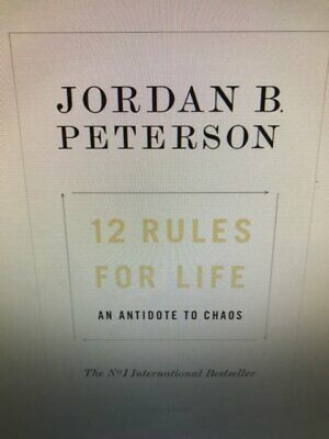 12 Rules for Life An Antidote to Chao by Jordan B. Peterson New Hardcover Book
