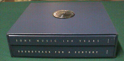 Sony Music 100 Years: Soundtrack For A Century 26 CD + Book Box Set