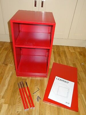 IKEA Lixhult Cabinet Metal Red 35x60cm, Failed Attempt
