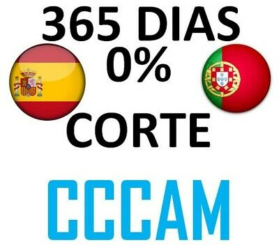 PREMIUM CCCAM 4 CLINE Server Español / Portugal 100% ESTABLE un año