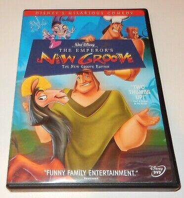 The Emperors New Groove (DVD, 2005) WS Disney