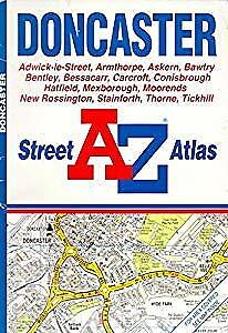 A. to Z. Doncaster Street Atlas (Map), Geographers' A-Z Map Company, Used; Good