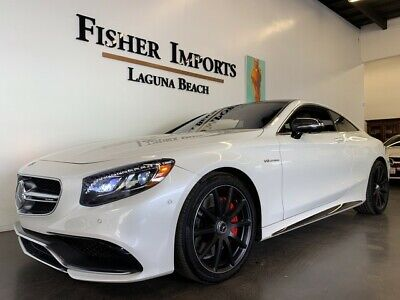 2016 Mercedes Benz S Class S63 Amg Coupe 197k Msrp