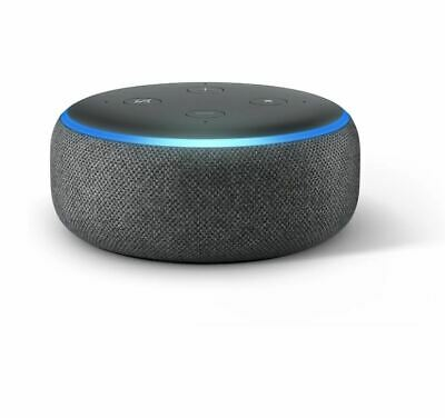 Amazon Echo Dot 3rd Generation w/ Alexa Voice Media Device - Charcoal - NEW™