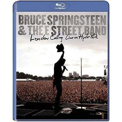BRUCE SPRINGSTEEN & E STREET BAND London Calling Live In Hyde Park BLU-RAY NEW