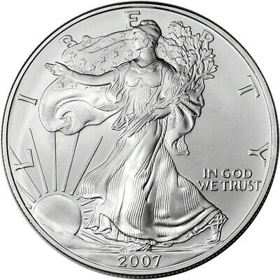 2007 American Silver Eagle - Brilliant Uncirculated