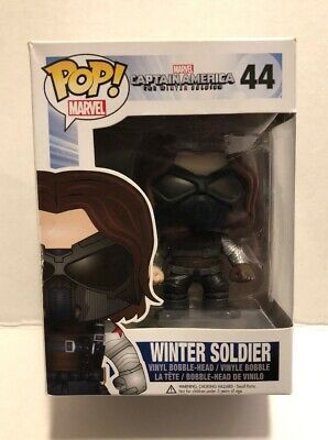 Funko Pop Captain America Winter Soldier 44 Masked Vaulted Retired Authentic