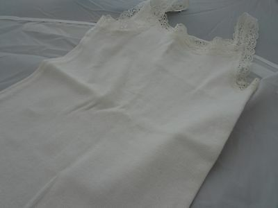 BYC Girls Tank Top Camisoles White Tank Tops Little Girl Undershirts Lace Trim