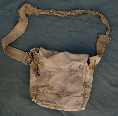 Australian Anzac Ww1 Gas Mask Bag Wwi Western Front Original