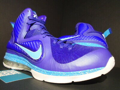 the latest b031e 2f1d4 Nike Lebron Ix 9 Summit Lake Hornets Purple Turquoise Blue Green 469764-500  11