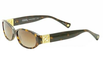 f64c9d7c2c90c Coach Women s Hope HC8012 HC 8012 5001 13 Dark Tortoise Sunglasses 53mm