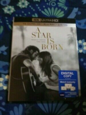 A Star is Born 4k blu ray DVD digital copy⭐BRAND NEW⭐ BUY IT NOW FOR UNDER $15