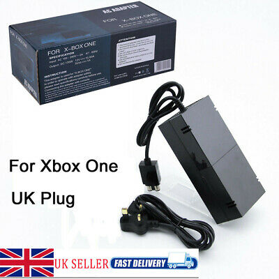 Mains Brick AC Power Supply Adapter Charger Cable For Microsoft Xbox One Console