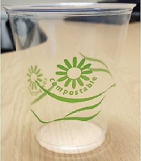 Compostable Half Pint Cups x 50