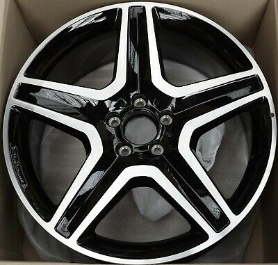 "Genuine Amg Mercedes Ml M Gle Class W166 20"" 9J Alloy Wheel A1664012002 7X23 !!!"