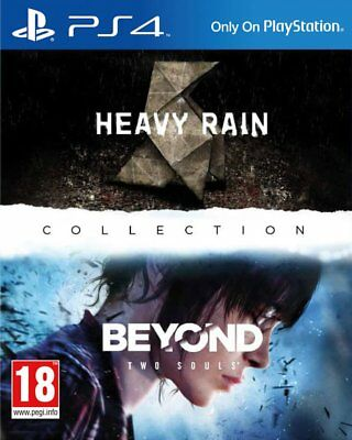 Heavy Rain & Beyond: Two Souls Collection (PS4)  NEW AND SEALED - QUICK DISPATCH