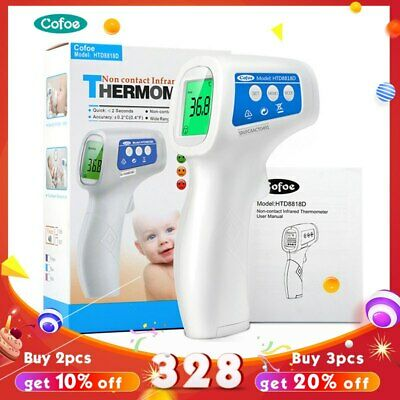 Infrared Forehead LCD Digital Thermometer Non-Contact Termometro Gun Baby