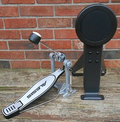 NEW Alesis Electronic Kick / Bass Drum Pad Command DM6 Nitro Forge with Pedal