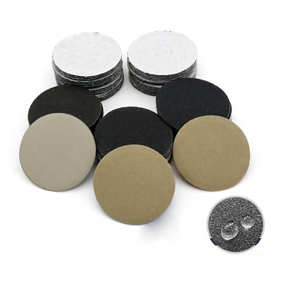 "2"" Inch 50mm Wet And Dry Sandpaper Sanding Disc Hook & Loop P60-P10000 Polishing"