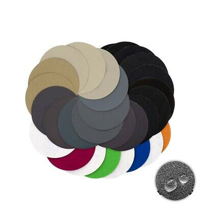 "5pcs 5"" Inch 125mm P60-P10000 Wet and Dry Sandpaper Hook and Loop Sanding Discs"