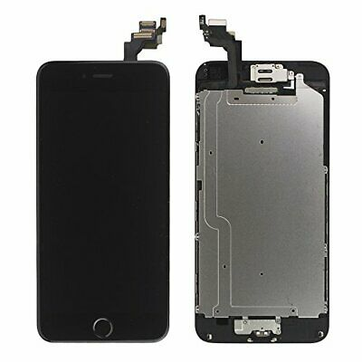 LL TRADER Screen Replacement for iPhone 6 (4.7 Inch) Black LCD Touch Digitizer