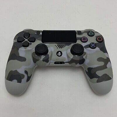 Urban Grey Camouflage Camo Playstation 4 PS4 Controller Game Pad V2 Dualshock 4