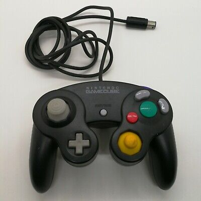Official Nintendo GameCube Controller Pad Black GC Switch Wii Japan