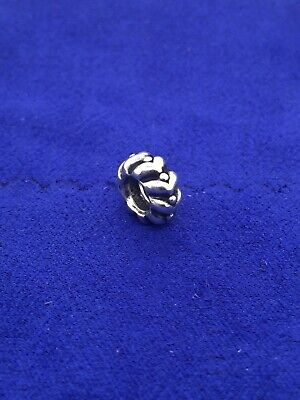 Authentic Pandora Heartbeats Spacer Charm Sterling Silver ALE 790450 *Retired*