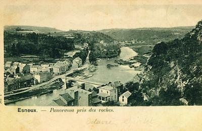 Esneux  Panorama  Pris Des Roches   Cpa 1058