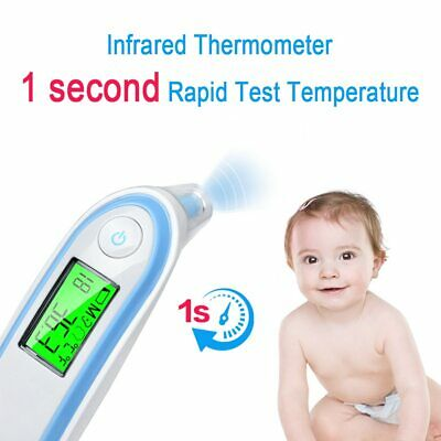 LCD Digital  Non-Contact IR Infrared Thermometer Forehead Body Baby Adult