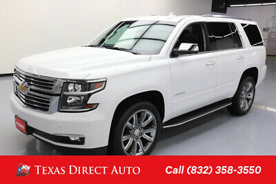 2018 Chevrolet Tahoe Premier Texas Direct Auto 2018 Premier Used 5.3L V8 16V Automatic 4WD SUV Bose OnStar