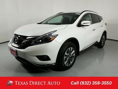 2018 Nissan Murano SV Texas Direct Auto 2018 SV Used 3.5L V6 24V Automatic AWD SUV