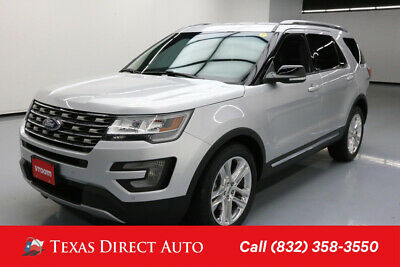 2016 Ford Explorer XLT Texas Direct Auto 2016 XLT Used 3.5L V6 24V Automatic FWD SUV Premium
